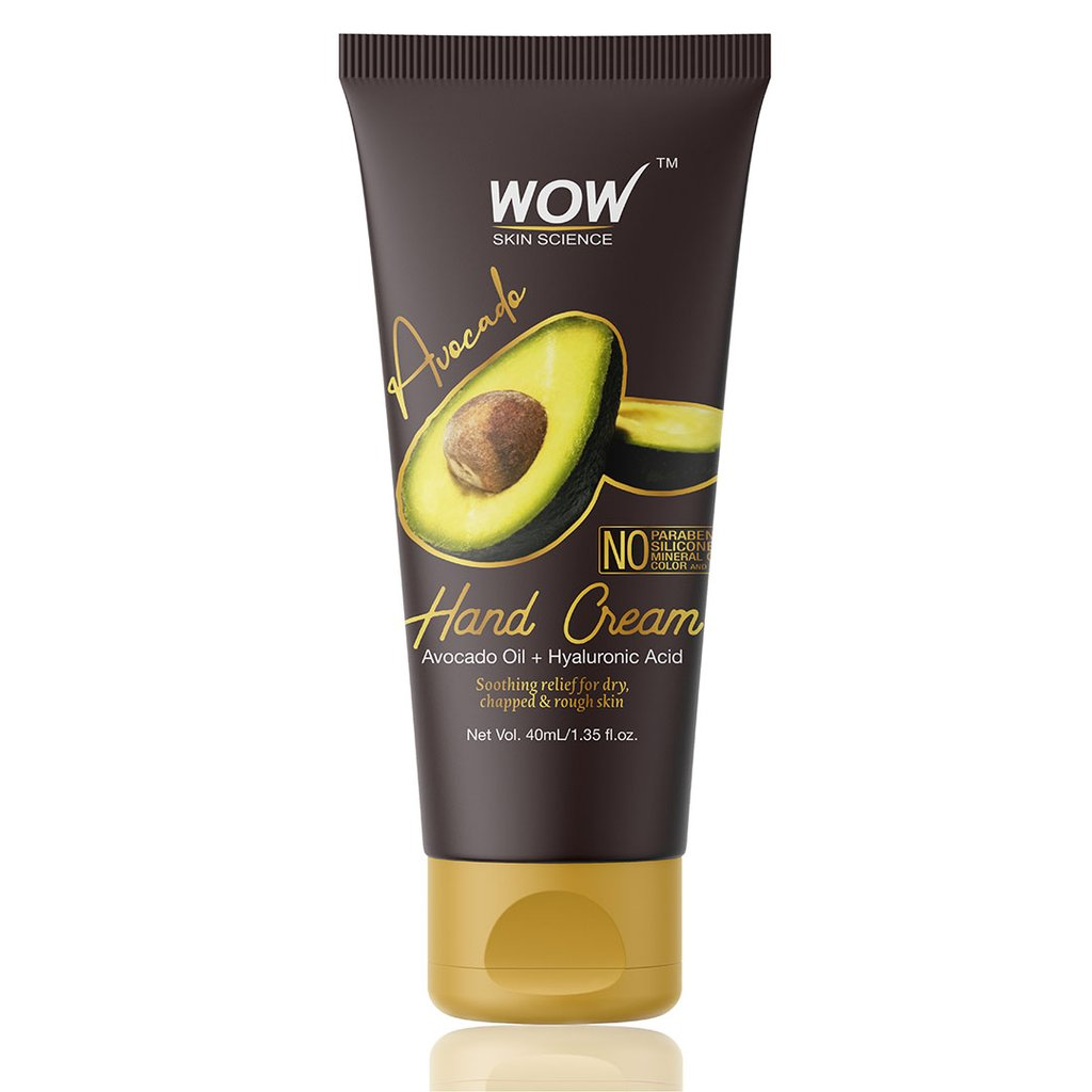Wow Avocado Gentle Hand Cream with Avocado Oil + Hyaluronic Acid