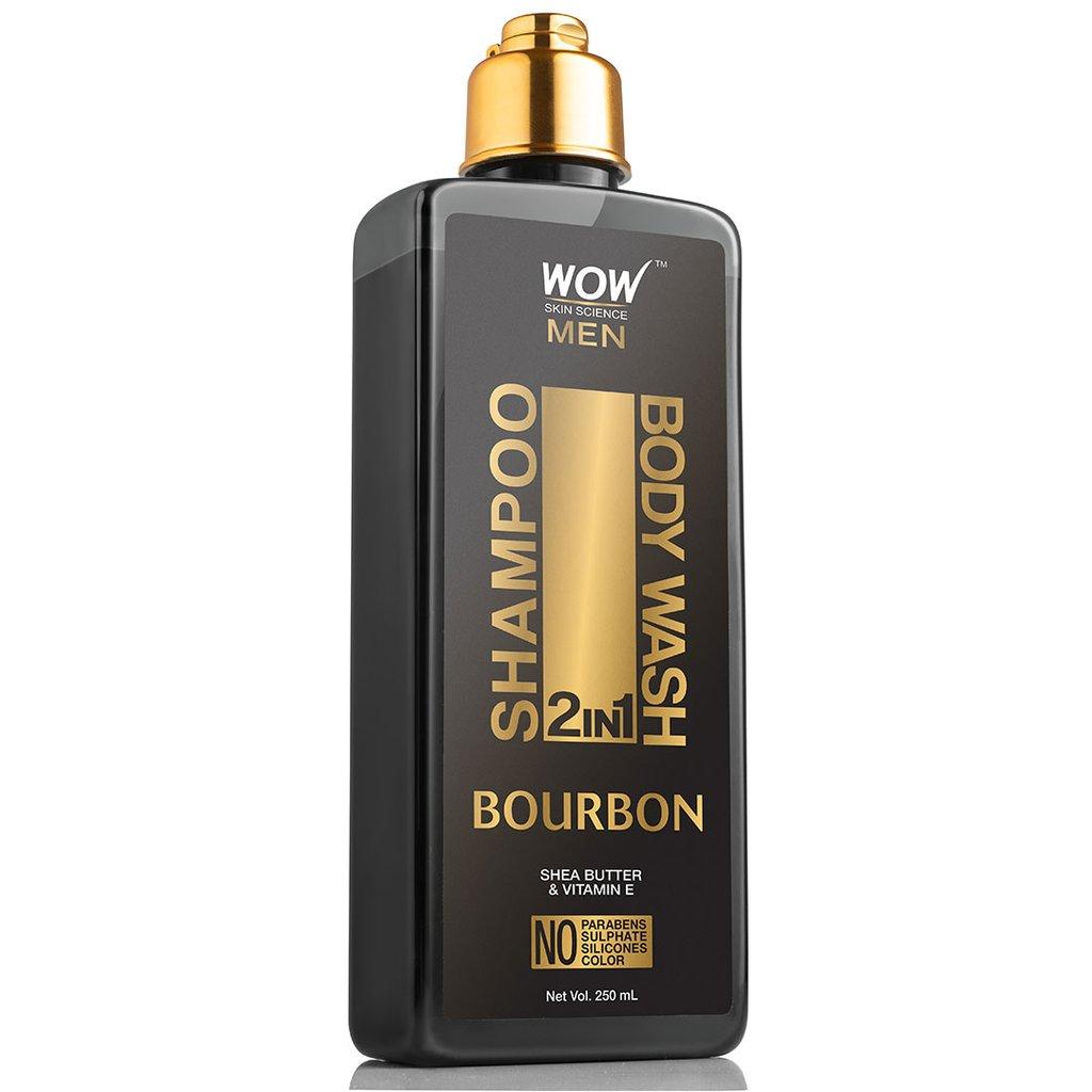 Wow Bourbon 2-In-1 Shampoo + Body Wash