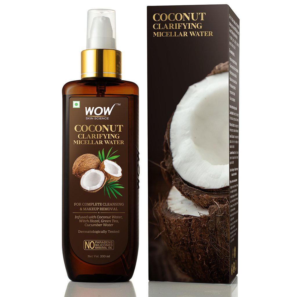 Wow Coconut Clarifying Micellar Water