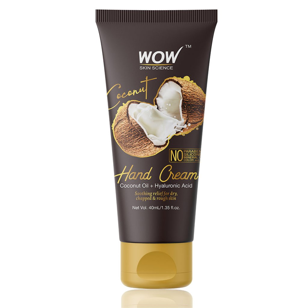Wow Coconut Gentle Hand Cream with Coconut Oil + Hyaluronic Acid