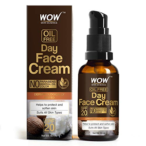 Wow Day Face Cream, SPF 20, with Rosehip Oil & Shea Butter, Oil Free