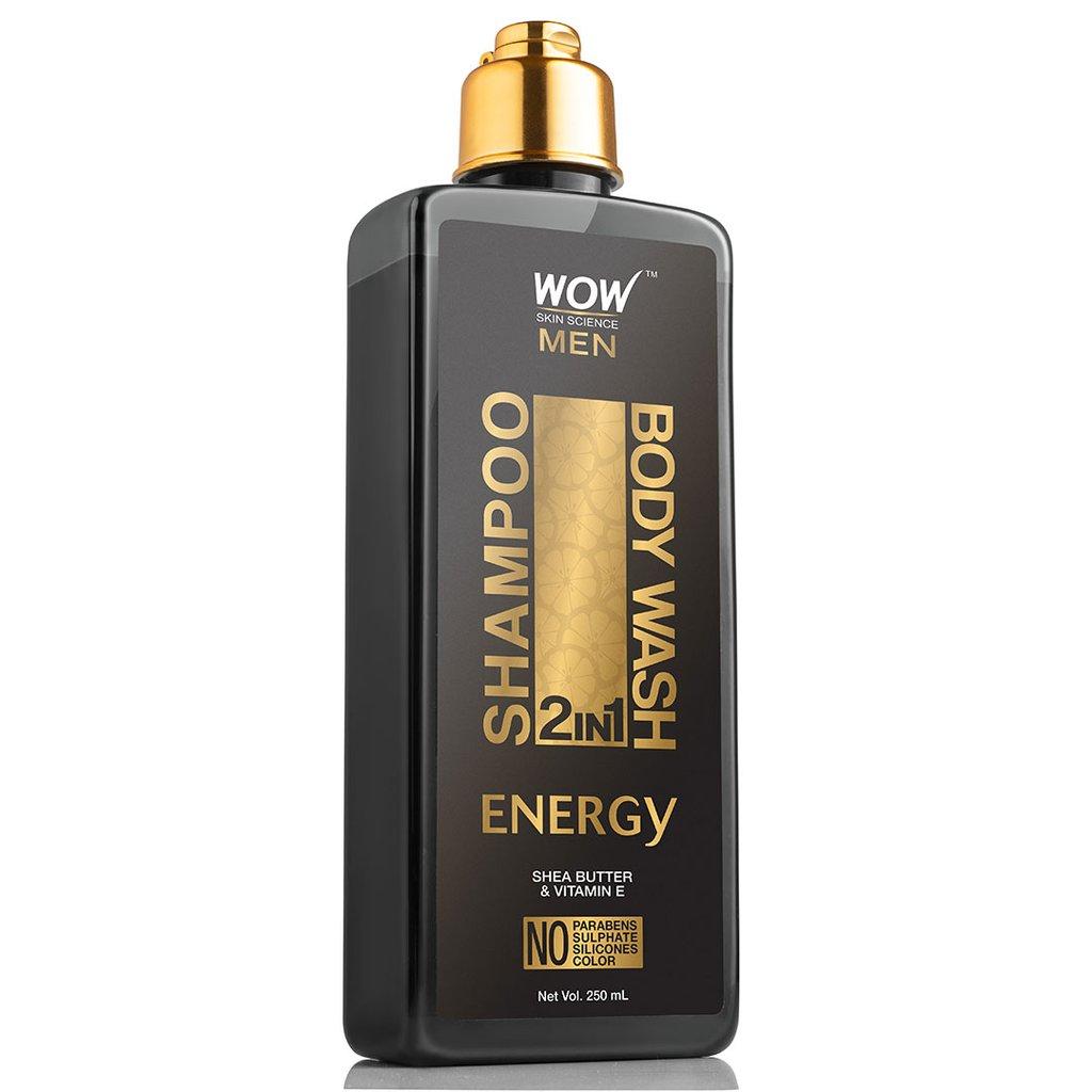 Wow Energy 2-In-1 Shampoo + Body Wash