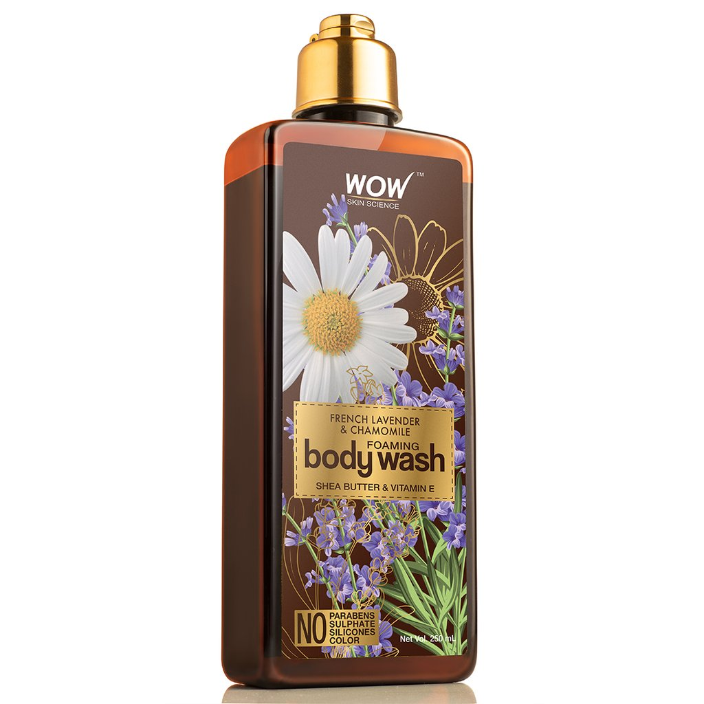 Wow French Lavender & Chamomile Foaming Body Wash