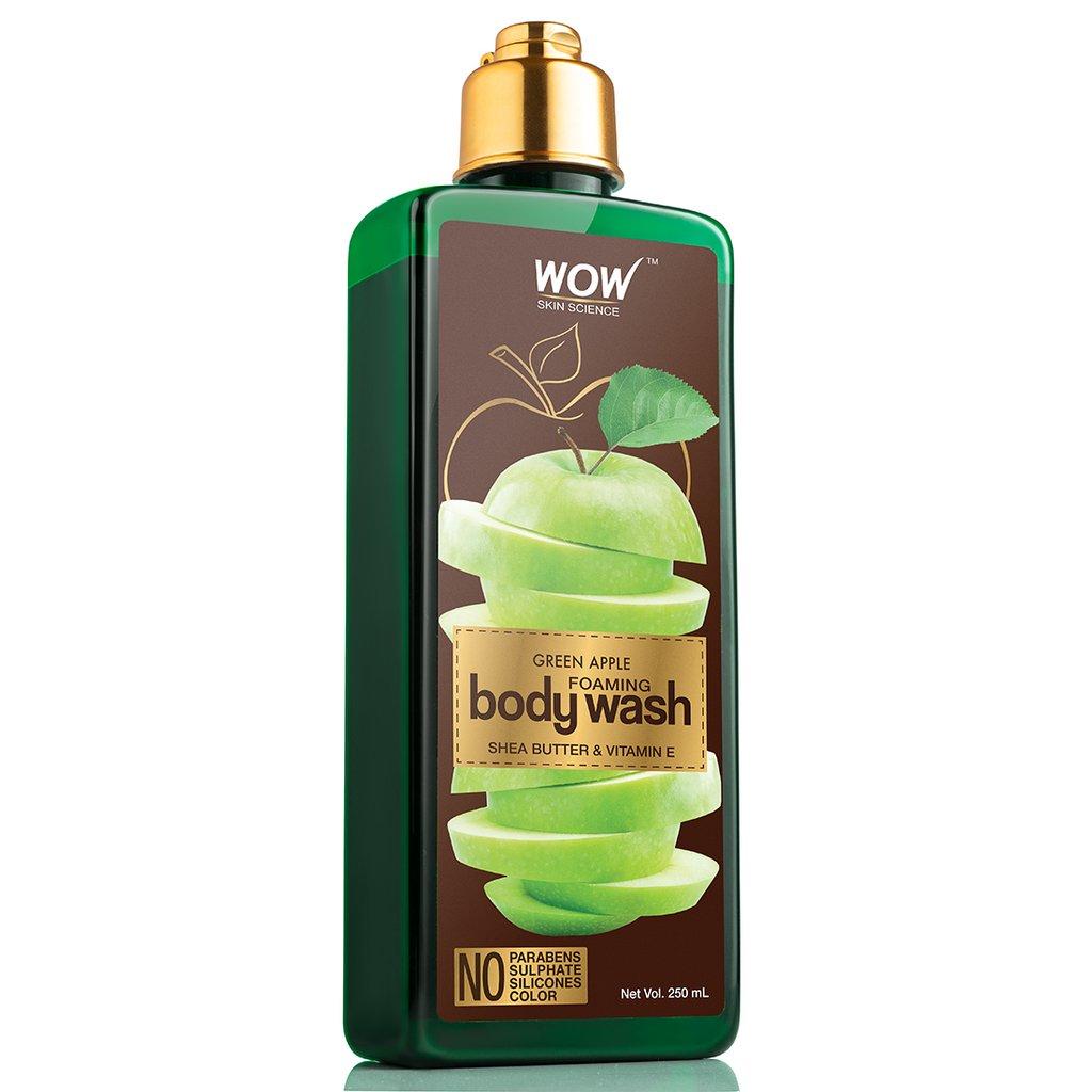 Wow Green Apple Foaming Body Wash