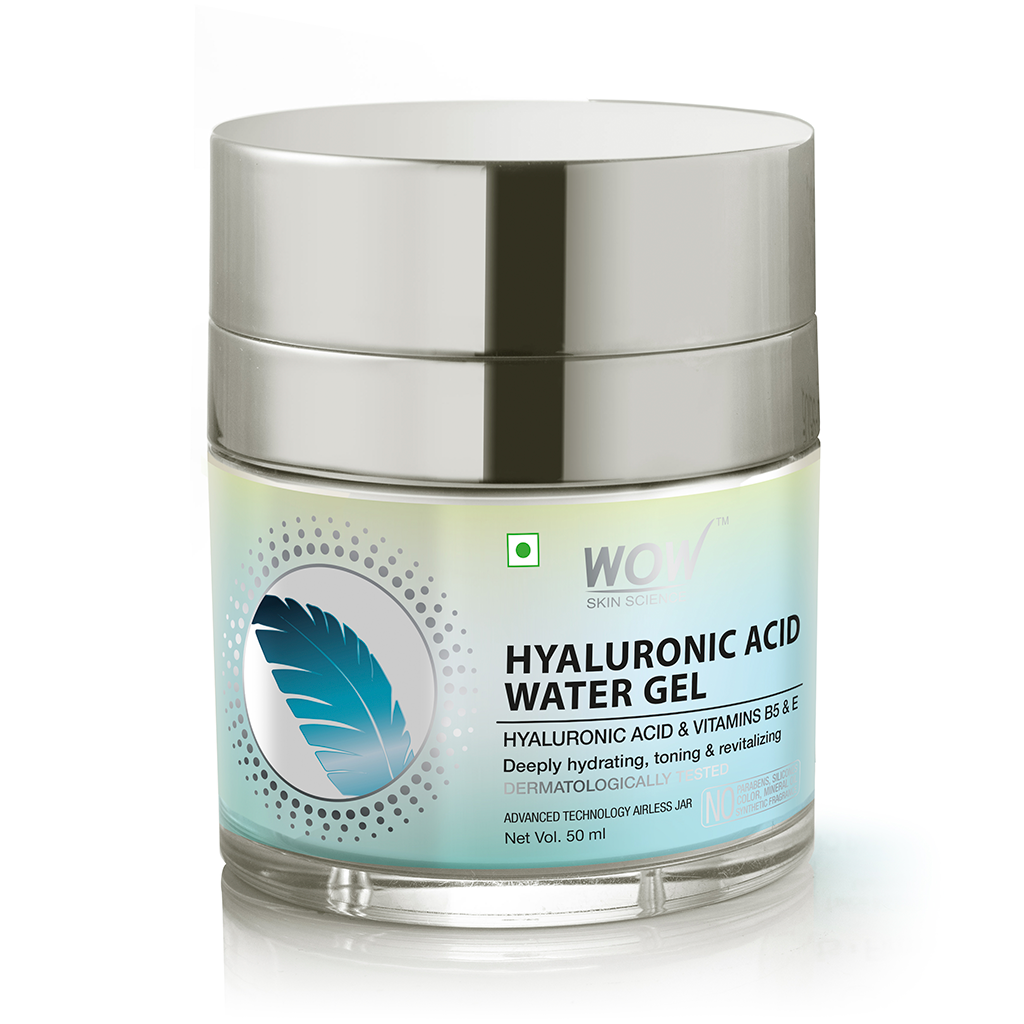 WOW Skin Science Hyaluronic Acid Water Gel for Face
