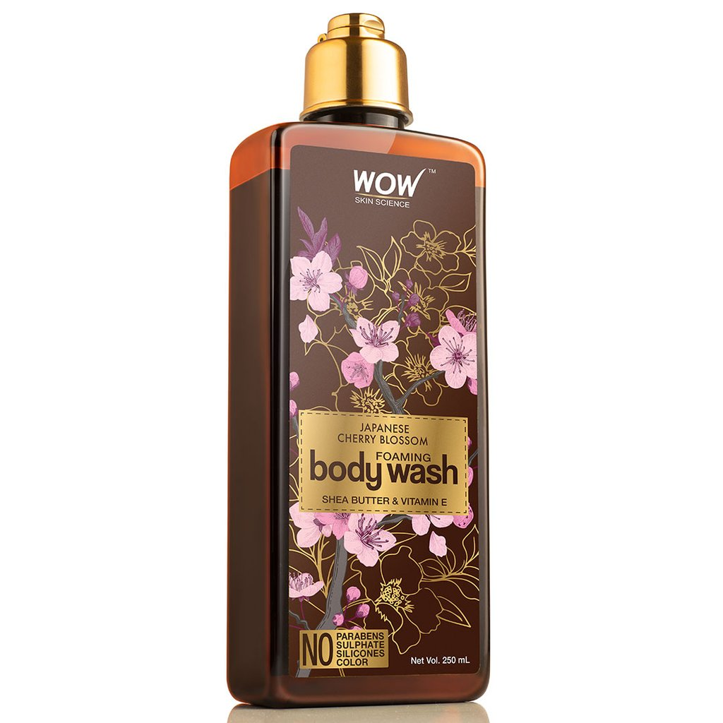 Wow Japanese Cherry Blossom Foaming Body Wash