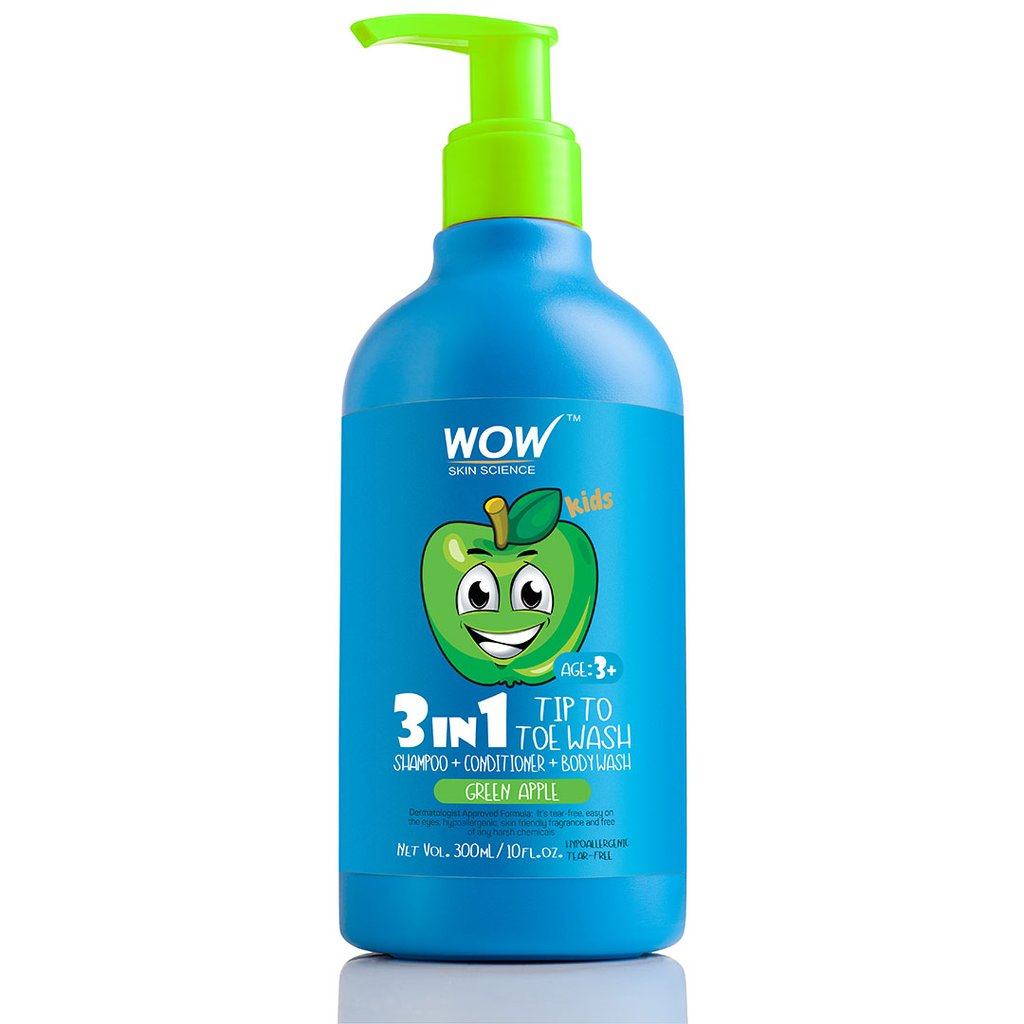 Wow Kids Tip To Toe Wash - Shampoo, Conditioner, Body Wash