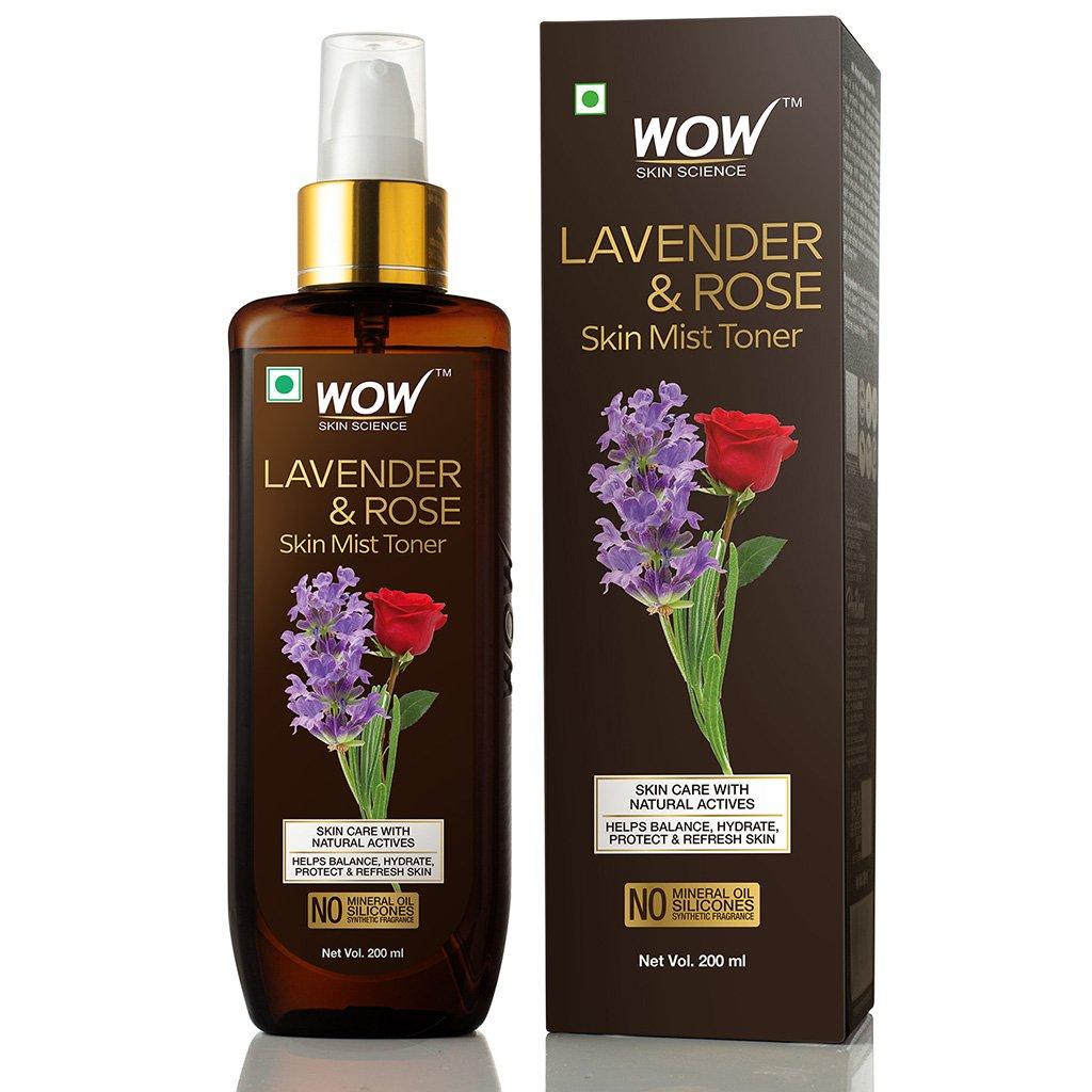 Wow Lavender & Rose Skin Mist Toner