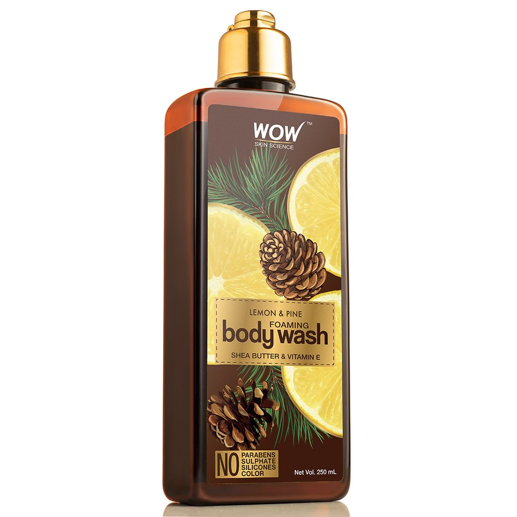 Wow Lemon & Pine Foaming Body Wash