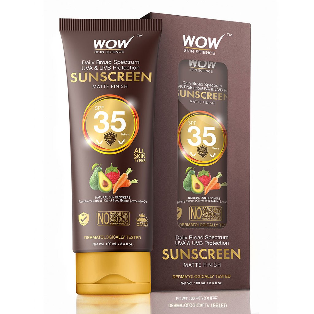 Wow Matte Finish Sunscreen Lotion SPF 35 Pa++