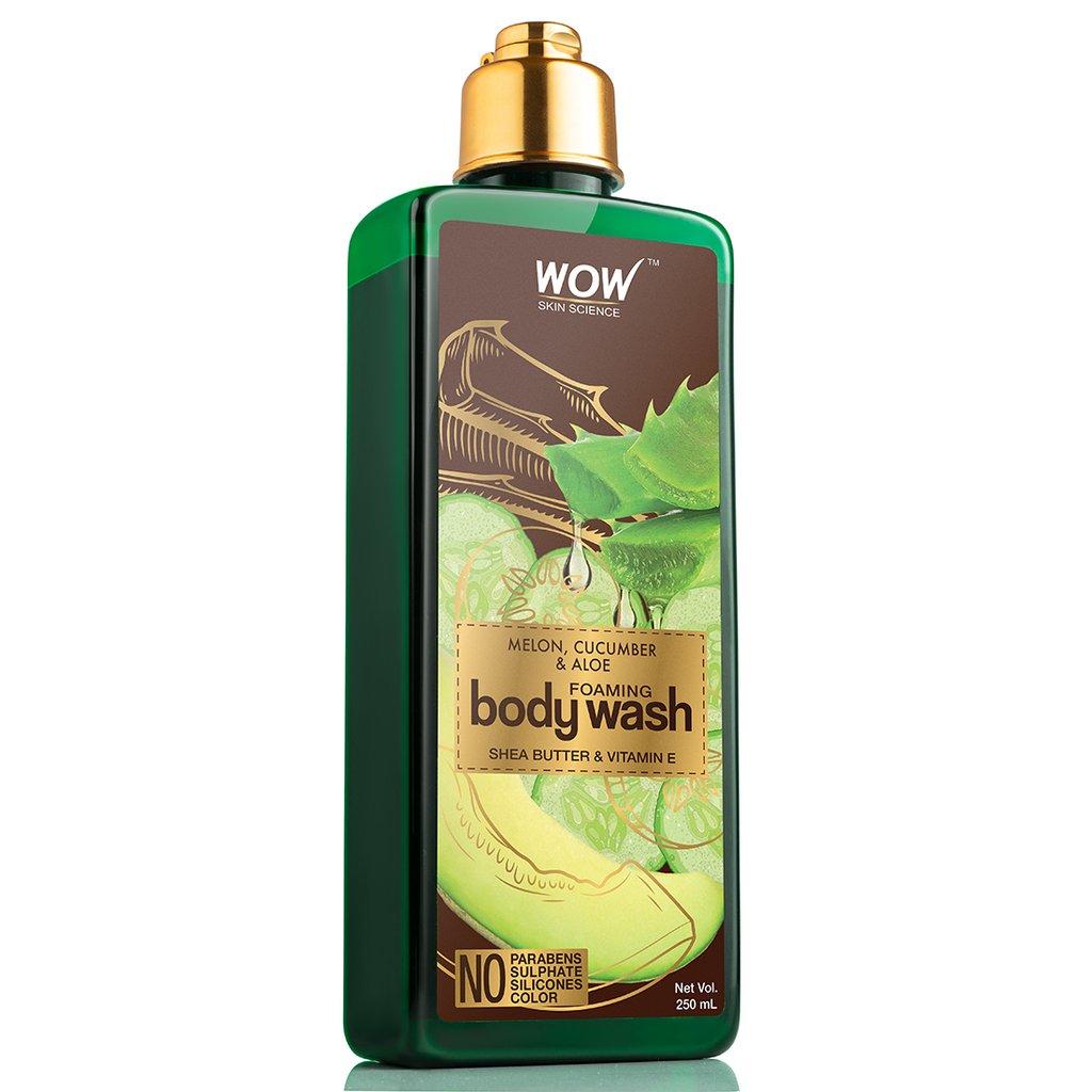 Wow Melon, Cucumber & Aloe Foaming Body Wash
