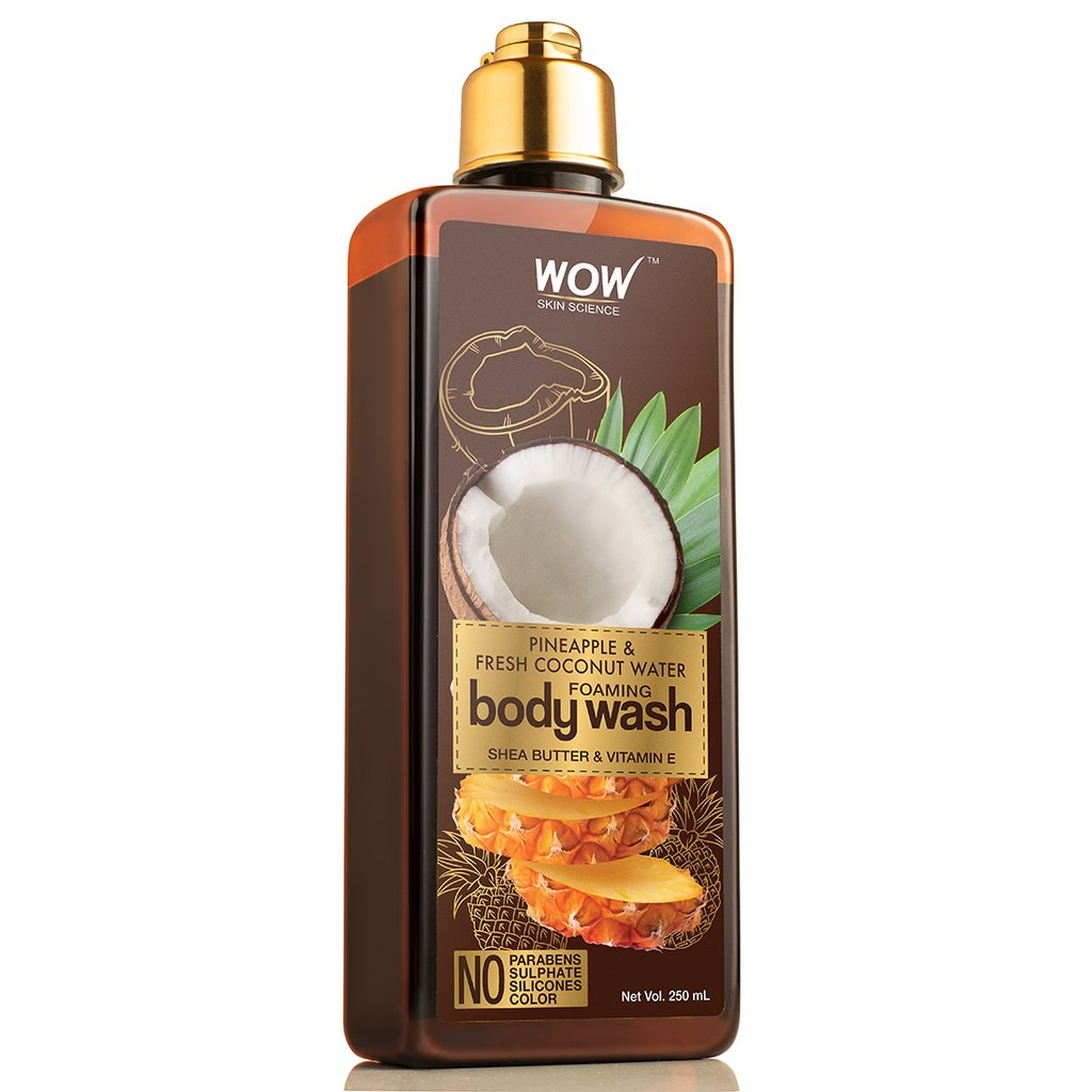 Wow Pineapple & Fresh Coconut Water Foaming Body Wash