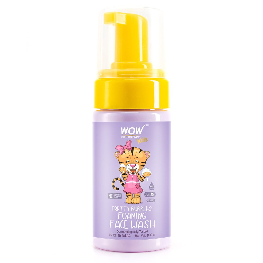 Wow Pretty Bubbles Foaming Face Wash with Aloe Barbadensis Leaf & Calendula Flower Extract