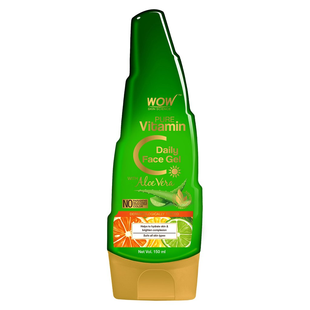 Wow Pure Vitamin C Daily Face Gel with Aloe Vera