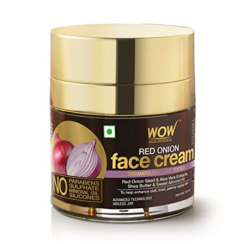 Wow Red Onion Face Cream, Oil Free, Quick Absorbing