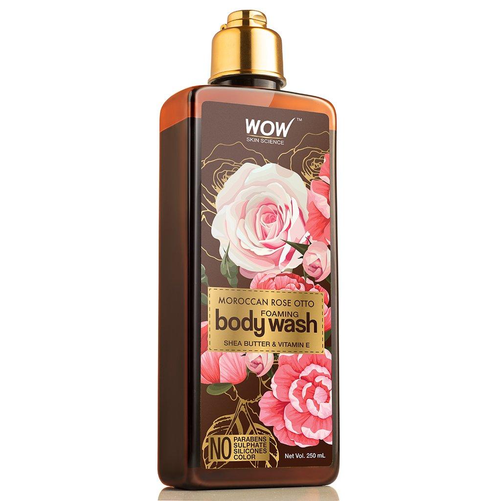 Wow Rose Otto Foaming Body Wash