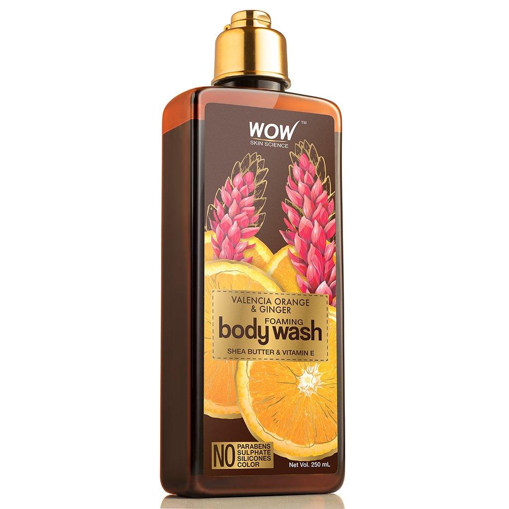 Wow Valencia Orange & Ginger Foaming Body Wash