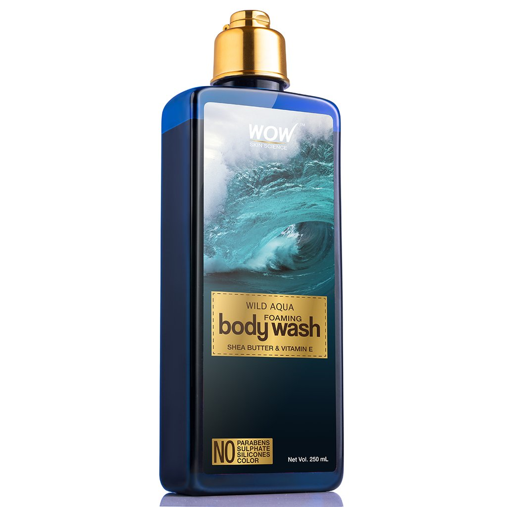 Wow Wild Aqua Foaming Body Wash