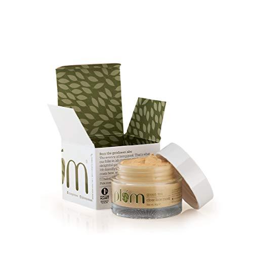 Plum Goodness 100% Vegan Green Tea Clear Face Mask