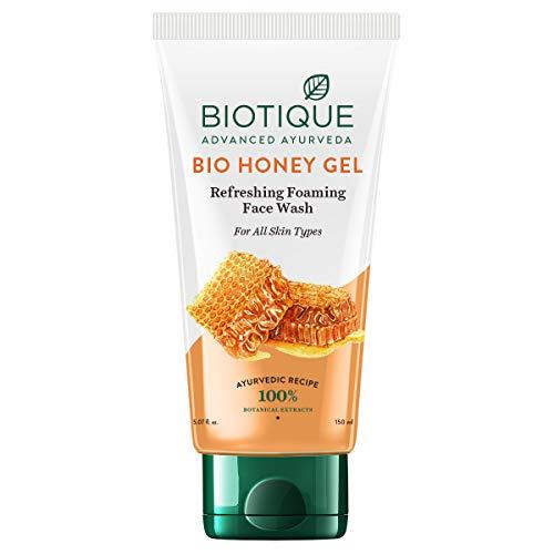 Biotique Bio Honey Gel Refreshing Foaming Face Wash for All Skin Types