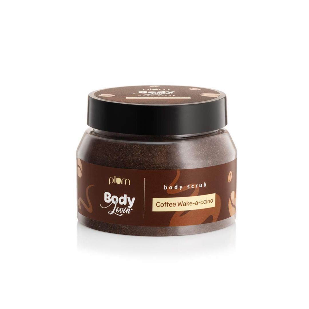 Plum Goodness Plum 100% Vegan BodyLovin Coffee Wake-a-ccino Body Scrub