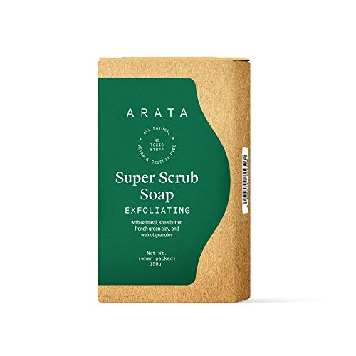 Arata Super Scrub Soap Bar