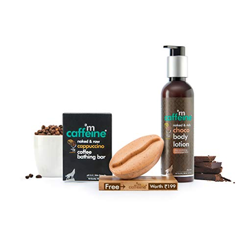 Mcaffeine Daily Cappuccino Bath Kit