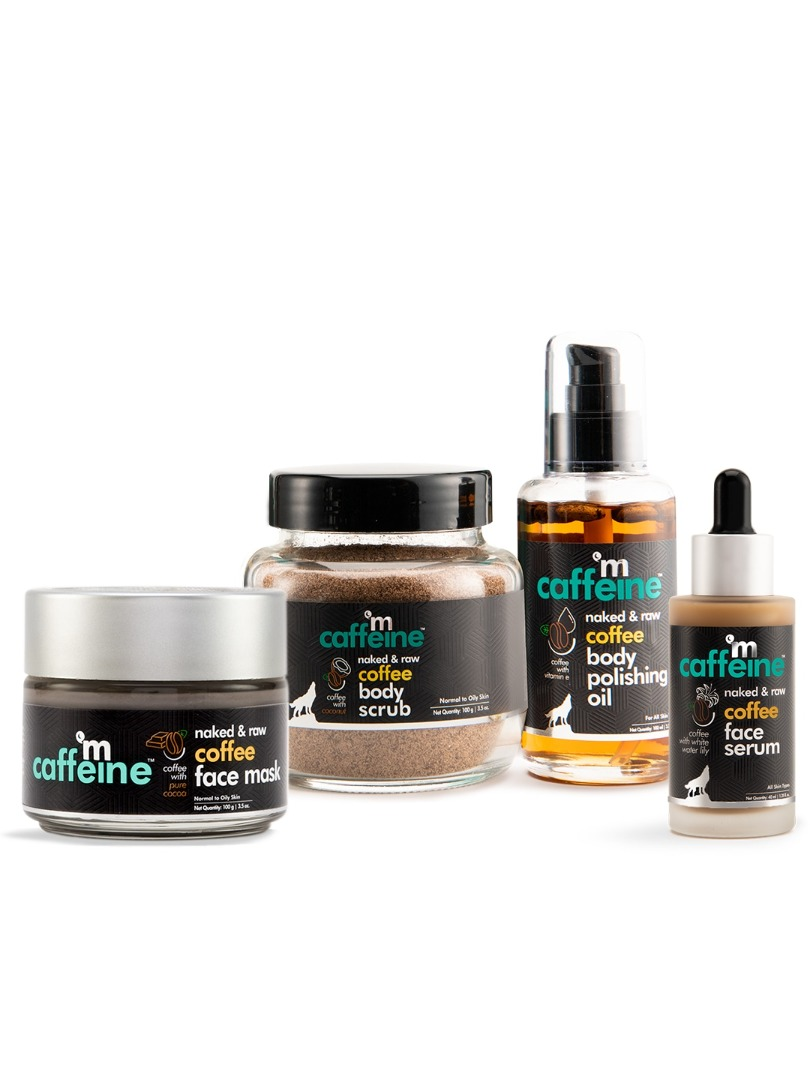 Mcaffeine Must-Have Skincare Set For Dry Skin