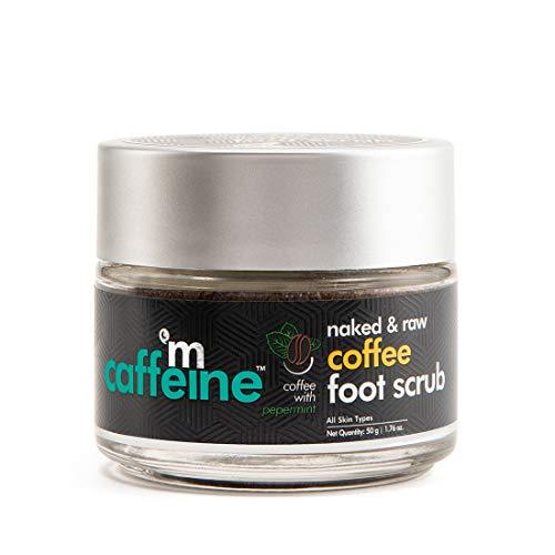 Mcaffeine Naked & Raw Coffee Foot Scrub with Peppermint