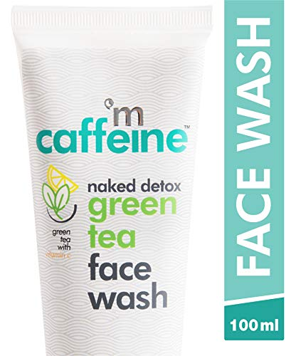Mcaffeine Naked Detox Green Tea Face Wash with Vitamin C & Hyaluronic Acid