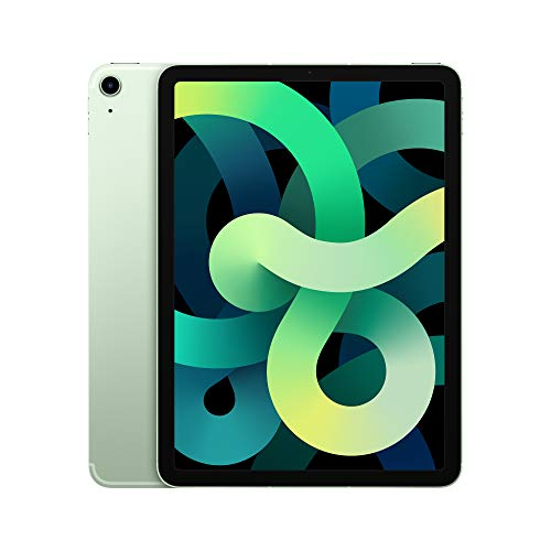 2020 Apple iPad Air with A14 Bionic chip (10.9-inch/27.69 cm, Wi-Fi + Cellular, 4th Gen)