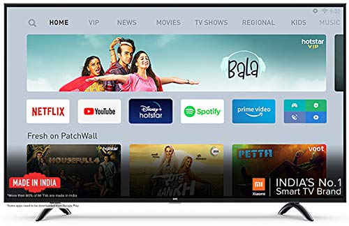Mi TV 4X 138.8 cm (55 Inches) Ultra HD Android LED TV