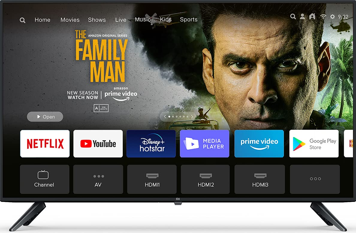 MI TV 4A (40 Inches) Full HD Android LED Smart TV