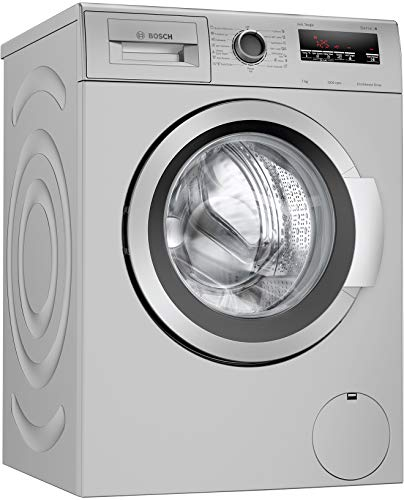 Bosch 7 kg 5 Star Inverter Fully Automatic Front Loading Washing Machine with In - built Heater (WAJ2416SIN, Silver)