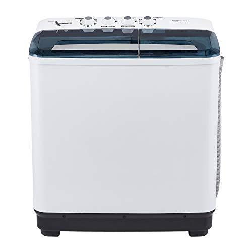 Amazonbasics 8 Kg Semi-Automatic Washing Machine Heavy Wash Function)