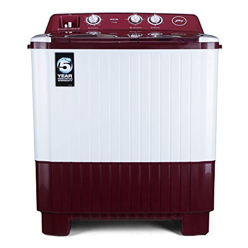 Godrej 7 Kg Semi-Automatic Top Loading Washing Machine - Ws Axis 7.0 Pn2 T Wnrd