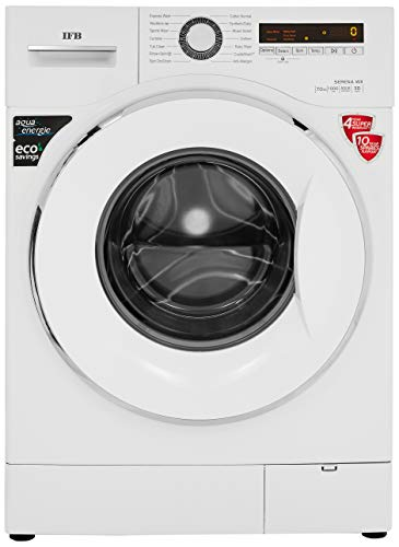 IFB 7 Kg Fully-Automatic Front Loading Washing Machine (In-Built Heater, Aqua Energie Water Softener) - Serena Wx