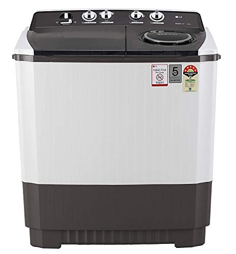 LG 10 Kg 5 Star Semi-Automatic Top Loading Washing Machine (Wind Jet Dry) - P1045Sgaz