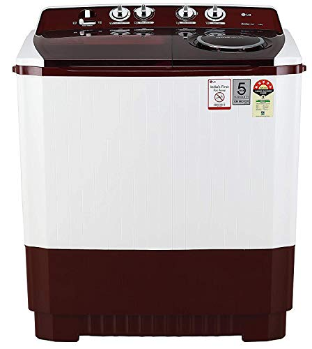 LG 11 Kg 5 Star Semi-Automatic Top Loading Washing Machine - P1145Sraz, Punch + 3