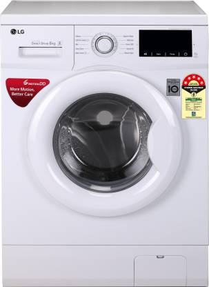 LG 6.0 Kg 5 Star Inverter Fully-Automatic Front Loading Washing Machine (Adwdirect Drive Technology) - Fhm1006 Adwdirect Drive Technology