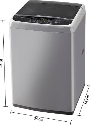 LG 6.2 Kg Inverter Fully-Automatic Top Loading Washing Machine - T7288NddLG.Asfpeil