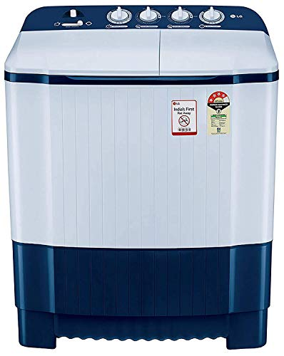 LG 6.5 Kg 4 Star Semi-Automatic Top Loading Washing Machine (Rat Away Technology) - P6510Nbay