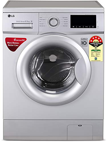 LG 6.5 Kg 5 Star Inverter Fully-Automatic Front Loading Washing Machine (Direct Drive Technology) - Fhm1065Zdl