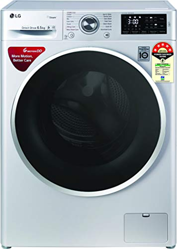 LG 6.5 Kg 5 Star Inverter Fully-Automatic Front Loading Washing Machine (6 Motion Direct Drive) - Fht1265Znl