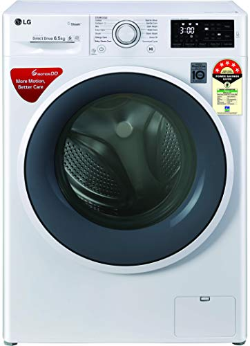 LG 6.5 Kg 5 Star Inverter Fully-Automatic Front Loading Washing Machine (Motion Direct Drive) - Fht1265Znw6
