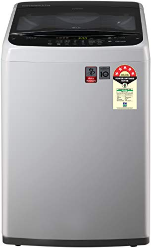 LG 6.5 Kg 5 Star Smart Inverter Fully-Automatic Top Loading Washing Machine (Turbodrum) - T65Spsf2Z