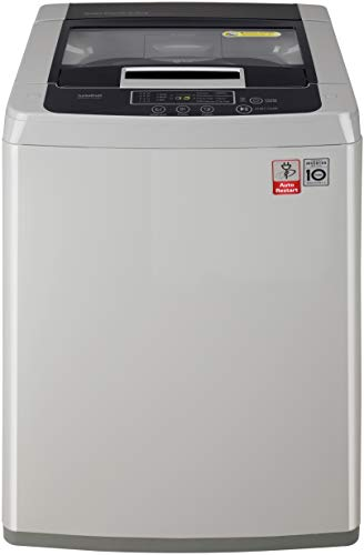LG 6.5 Kg Inverter Fully-Automatic Top Loading Washing Machine - T7585NddLGa