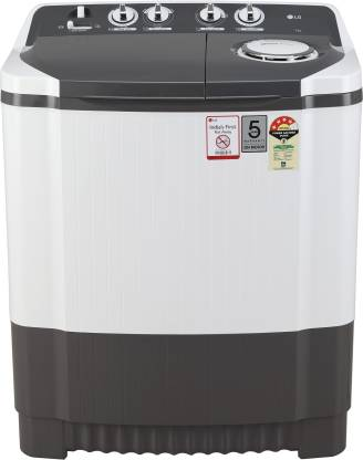 LG 7 Kg 4 Star Semi-Automatic Top Loading Washing Machine (Collar Scrubber) - P7020Ngay