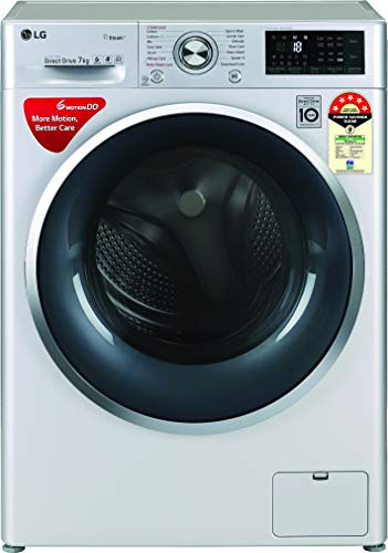 LG 7 Kg 5 Star Inverter Wi-Fi Fully-Automatic Front Loading Washing Machine (Steam) - Fht1207Zwl