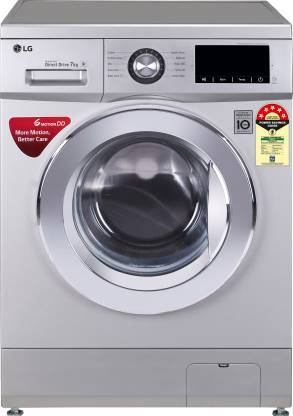 LG 7.0 Kg 5 Star Inverter Fully-Automatic Front Loading Washing Machine (6 Motion Technology) - Fhm1207Zdl